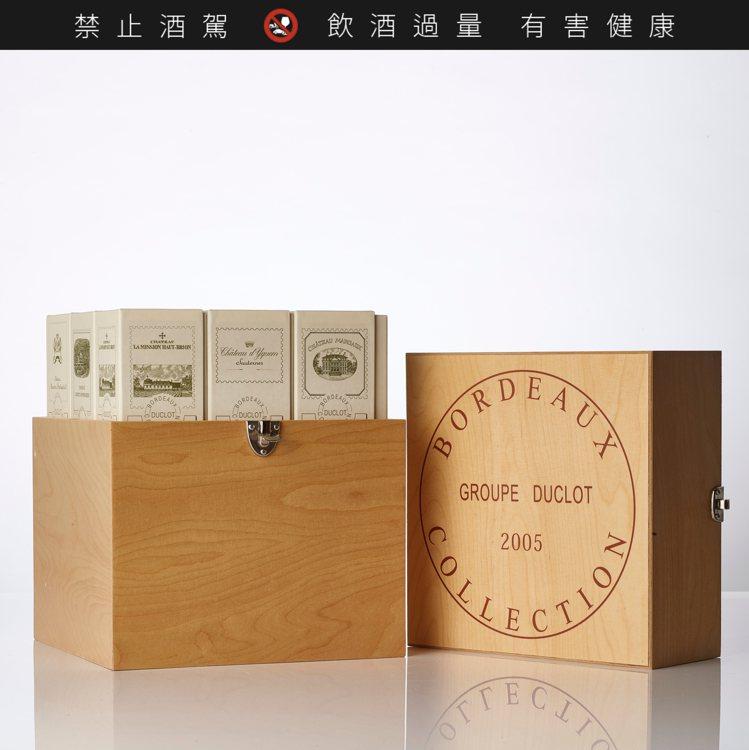 Bordeaux Caisse Primeur Duclot 2005年(9瓶裝...