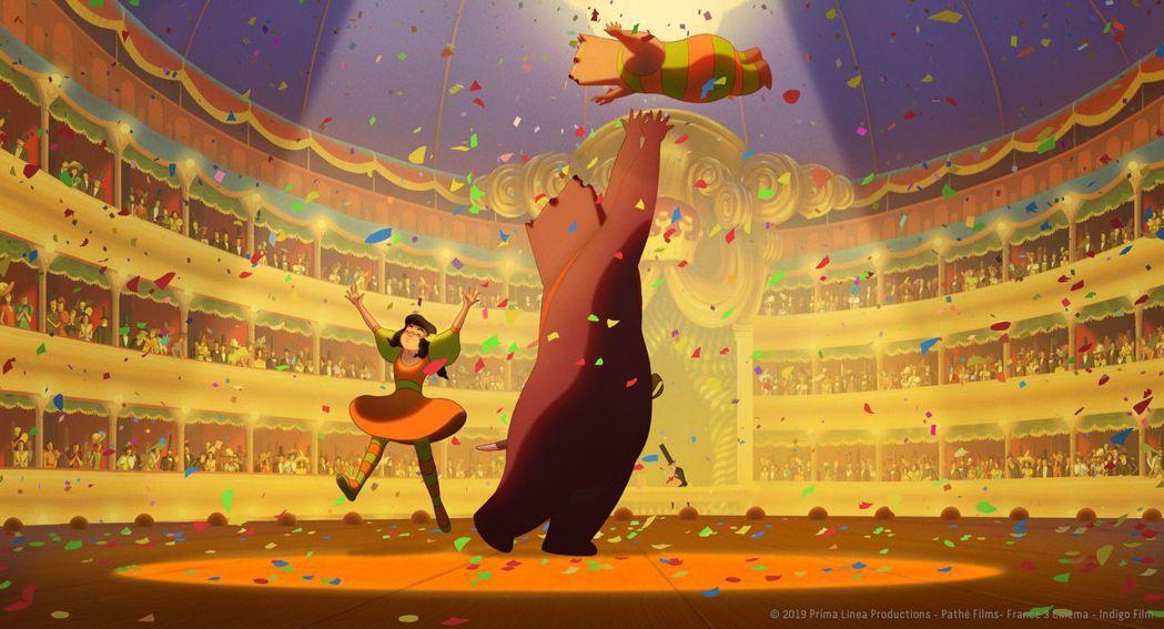 「熊熊大作戰」改編自有「義大利卡夫卡」之稱的迪諾布扎蒂同名作品。圖/CATCHP