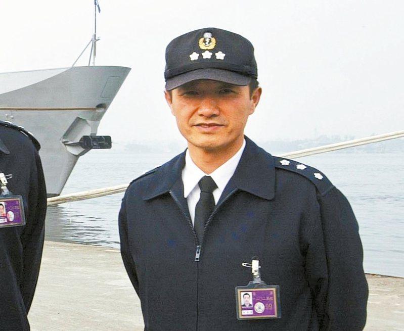 敦睦艦隊支隊長陳道輝。 圖/聯合報系資料照片