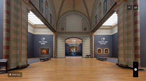荷蘭阿姆斯特丹國家博物館提供了十種線上參觀與互動的方式。 圖/摘自官網