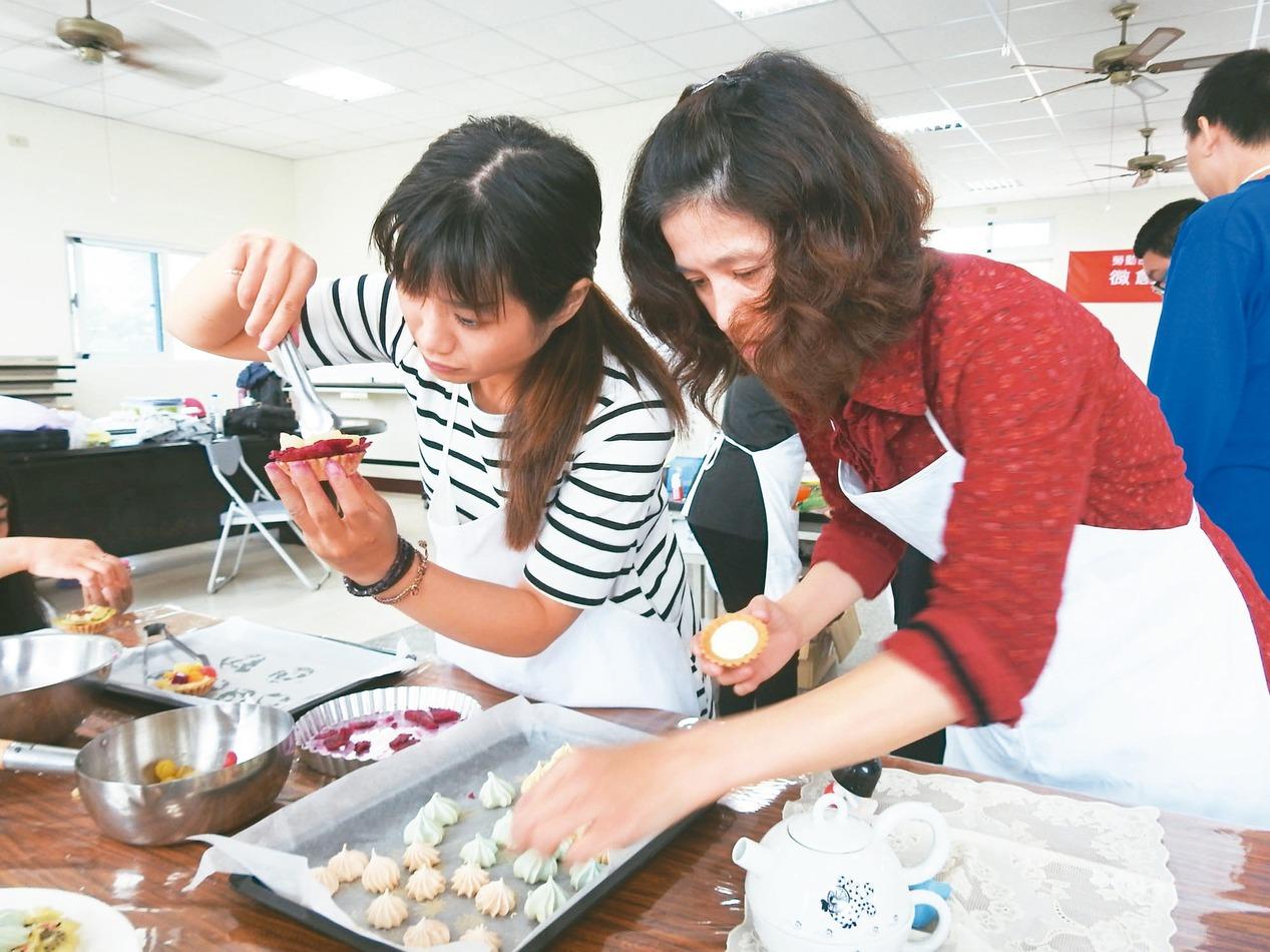 「婦」出江湖!勞動力發展署辦二度就業婦女職業訓練