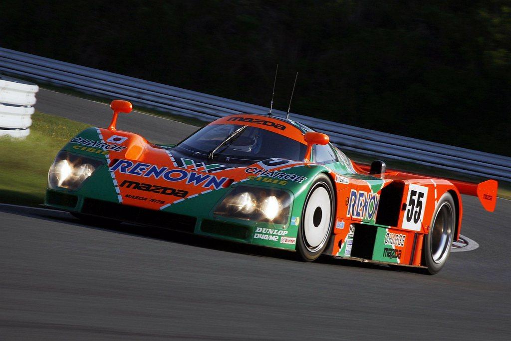 Mazda 787B賽車於1991年24 Hours of Le Mans(利曼...