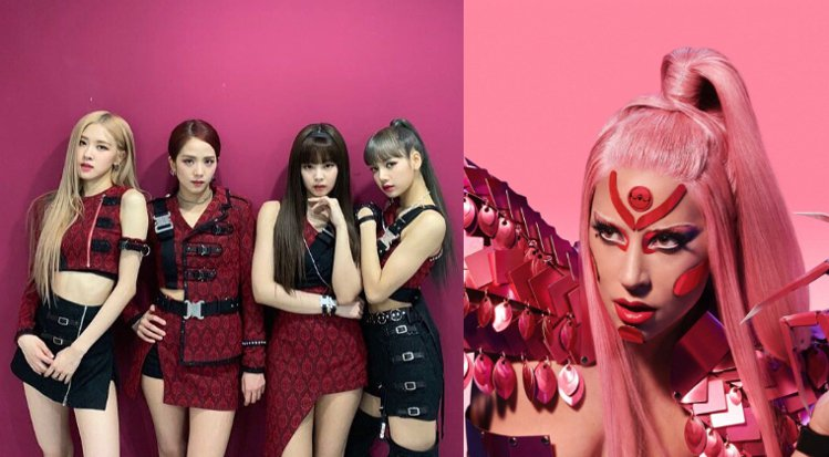 圖/BLACKPINK , Lady Gaga