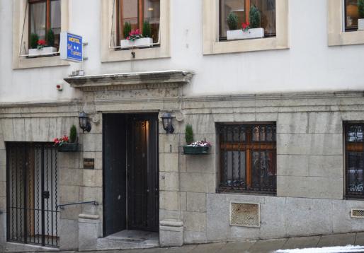 位於日內瓦市中心的三星飯店Bel Esperance。圖取自飯店官網