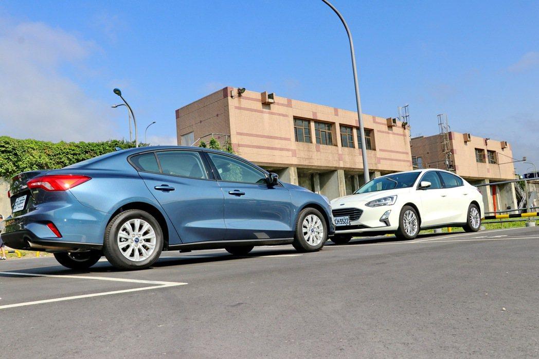 Focus目前是Ford相當倚重的國產車款。 記者陳威任/攝影