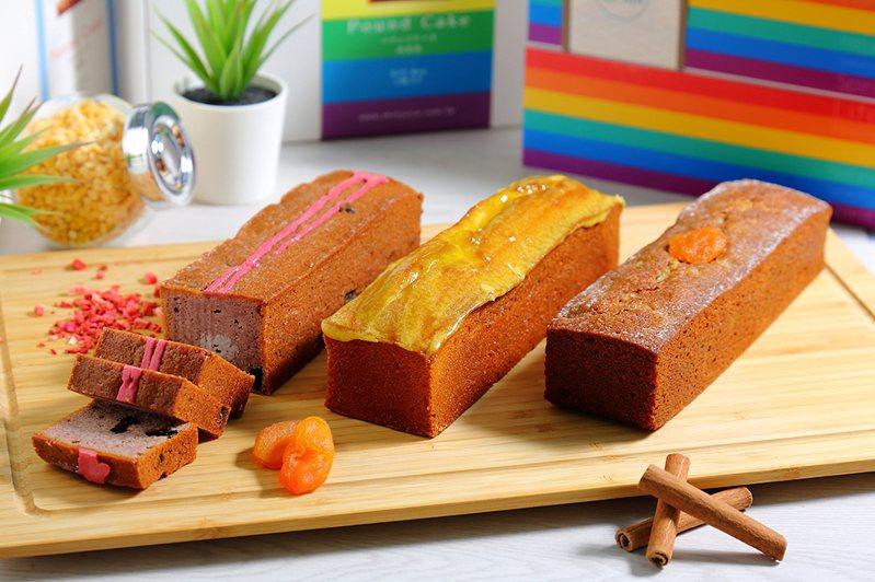 信的店目前共推出巧克力、柚子檸檬、伯爵茶、莓果與熱帶芒果五款口味。(攝影/Carter)