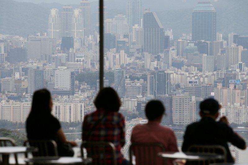 南韓Q1經濟萎縮1.4%,為金融海嘯來最差表現。(圖/路透)