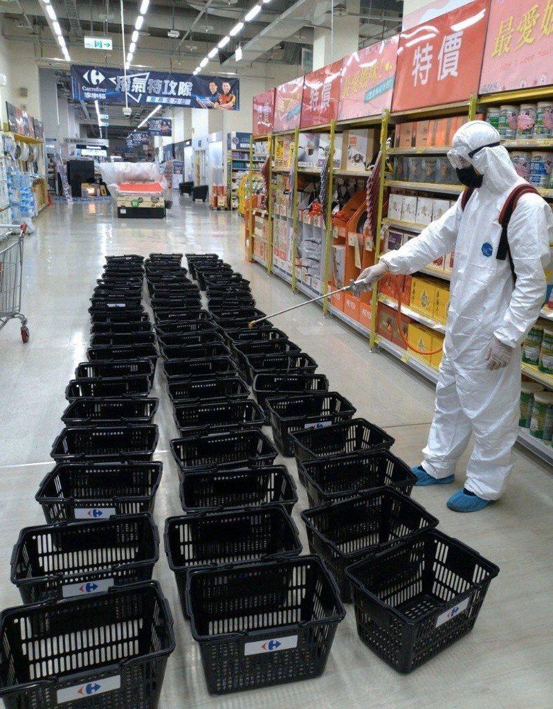 業者為保障顧客安全與權益,在昨天暫停營業進行閉館消毒。記者陳弘逸/翻攝