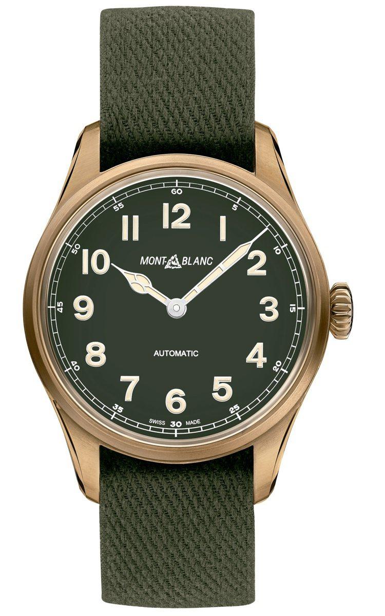 Montblanc,1858系列青銅腕表,青銅,自動上鍊機芯,時間顯示,價格未定...