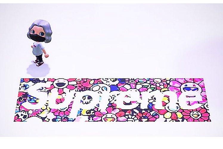 有在玩任天堂熱門遊戲「動物森友會」的玩家們,看到了由藝術家村上隆和殿堂級潮牌Su...