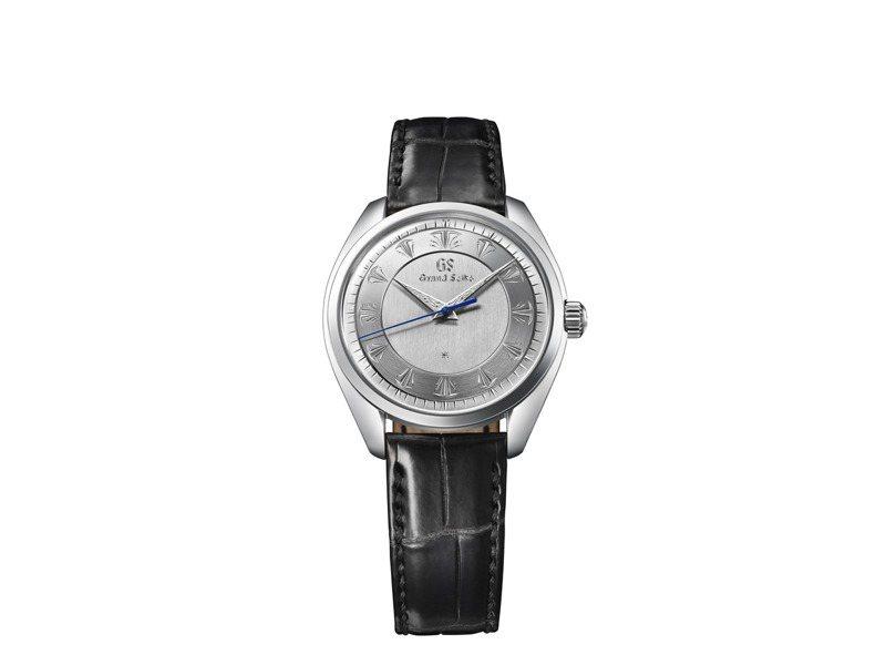 Grand Seiko 60周年紀念SBGW263腕表,搭載9S64機芯,鉑金表殼,限量20只,10萬1,000歐元。圖/SEIKO提供