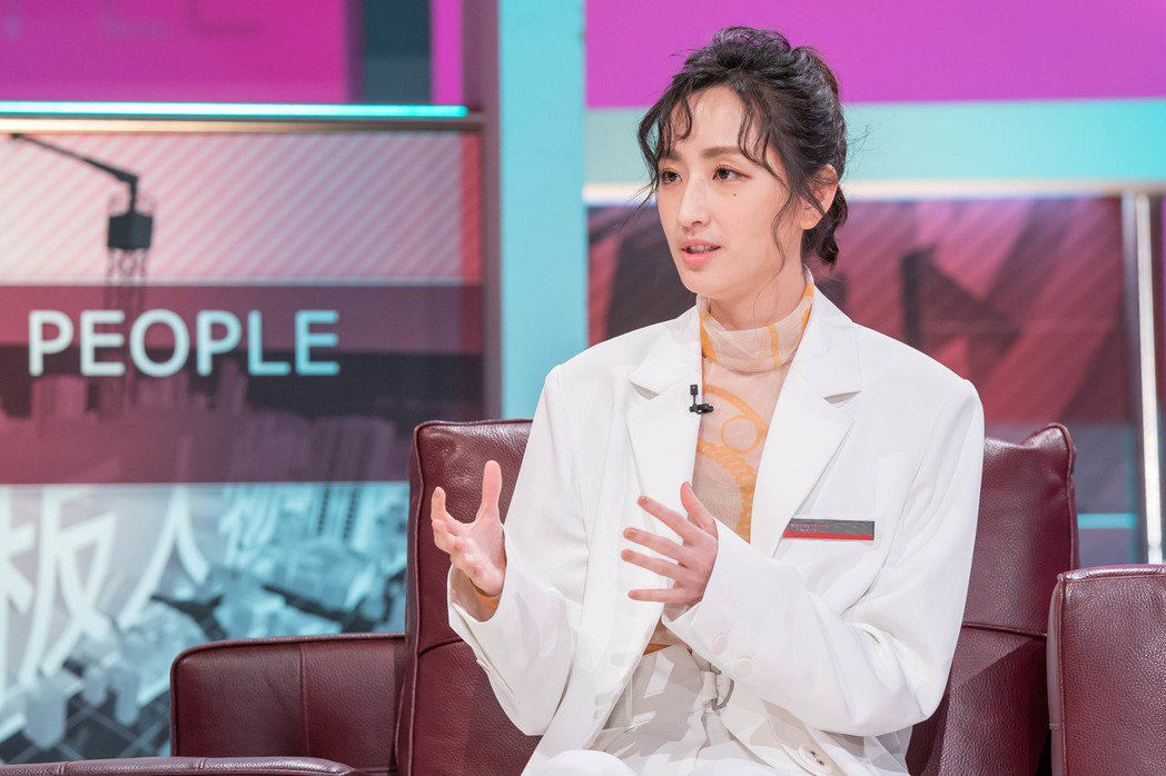 柯佳嬿接受「TVBS看板人物」。圖/TVBS提供
