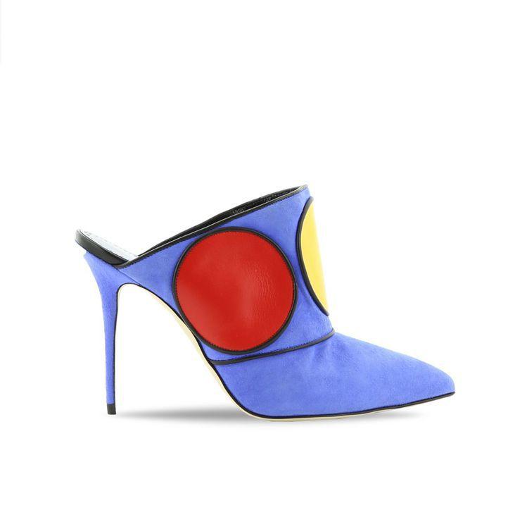 向英國雕塑家Henry Moore弦雕塑藝術致敬的色塊設計。圖/Manolo B...