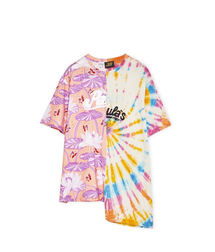白橘色棉質短袖,售價19,000元。圖/LOEWE提供
