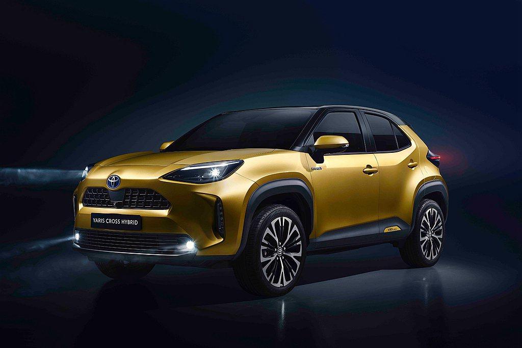 歐規Toyota Yaris Cross將於2021年夏天在歐洲市場販售,並由法...