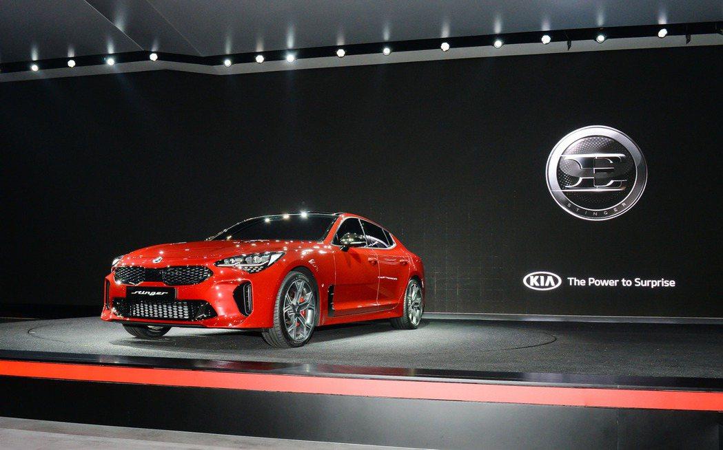 Kia Stinger是品牌具有相當代表性的車款。 摘自Kia