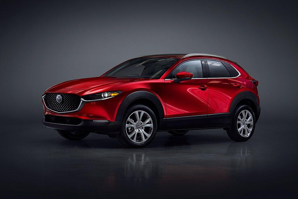 Mazda CX-30今年1-3月在美國市場累積銷售8,364輛成績,並成為品牌...
