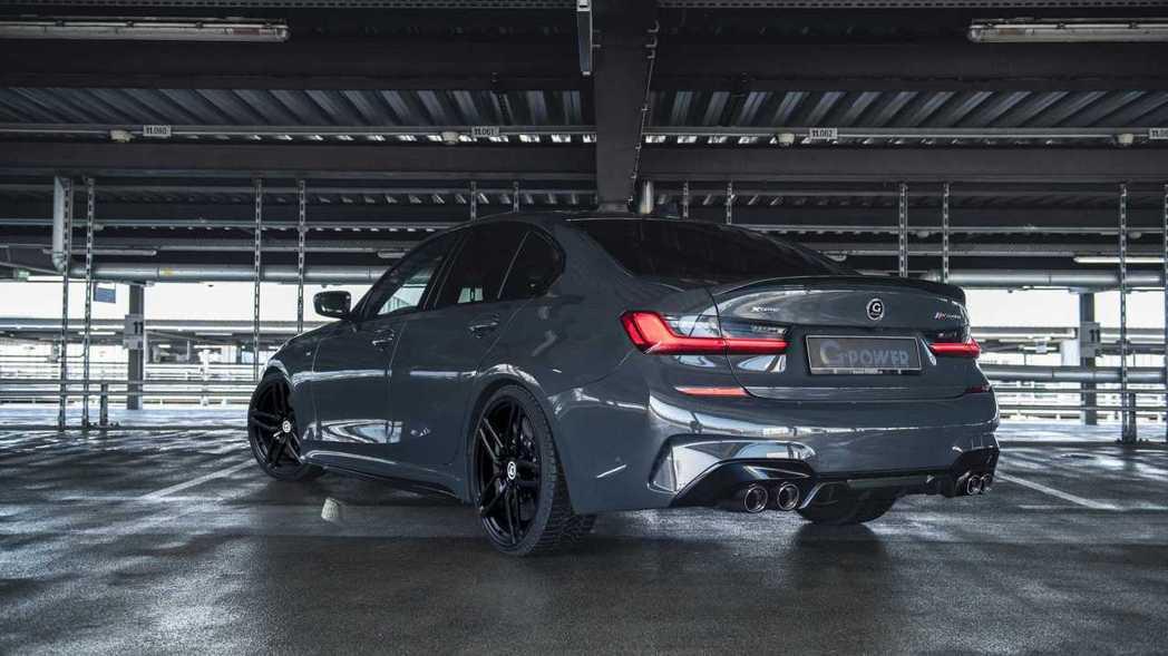 改裝廠G-Power版的BMW M340i xDrive Sedan,最入門的G...