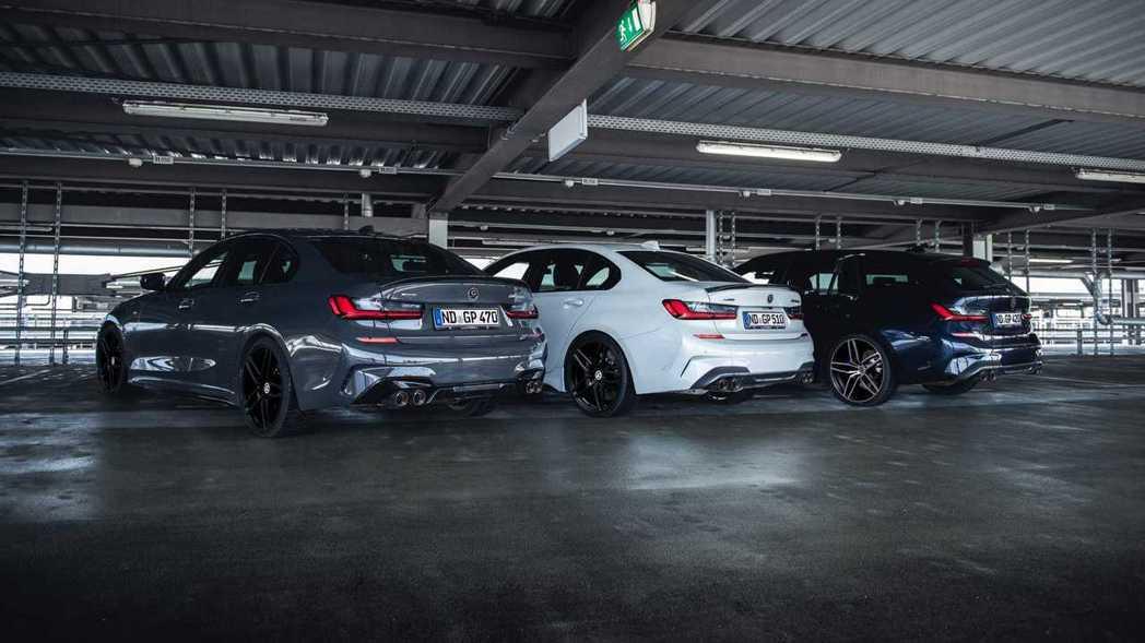 改裝廠G-Power針對BMW M340i xDrive提供了三種升級套件,等級...