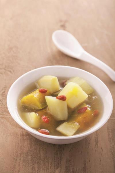 南瓜甜湯。 圖片/台灣好食材
