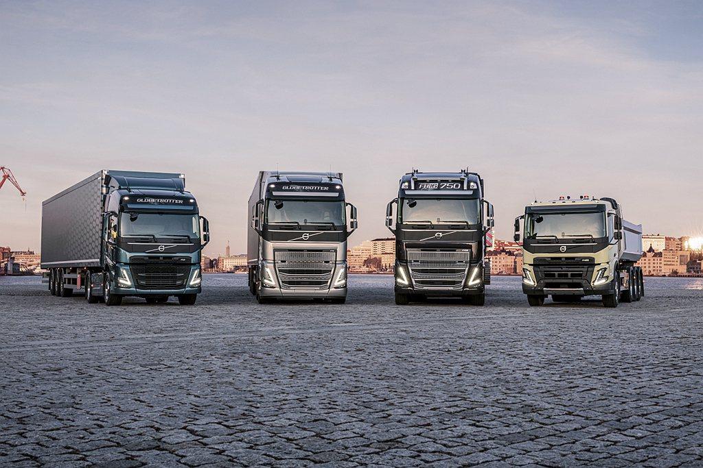 新世代Volvo FH、FH16、FM、FMX車系採用新設計的後軸重型Bogie...