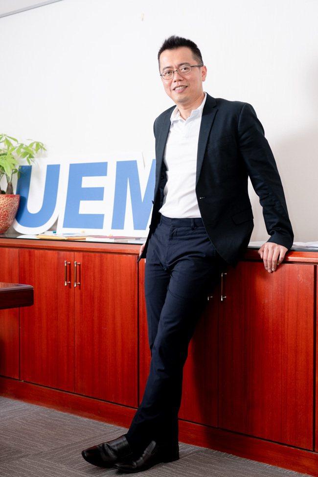 威合威務公司總經理林華成擁有堅實的財務專業能力。威合威務/提供
