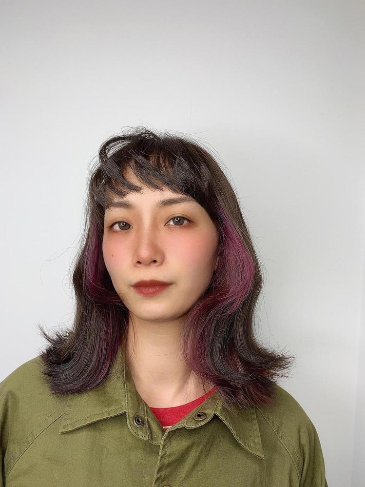 髮型創作/依林 HAIR SALON / Meg Lin,圖/StyleMap美...