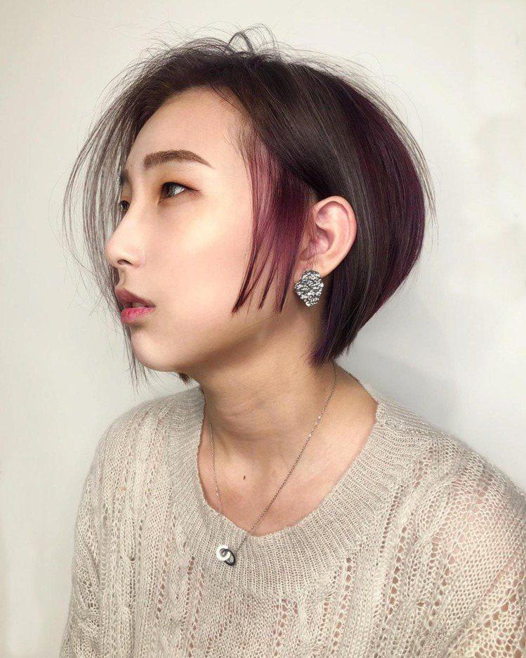 髮型創作/RAW原生髮廊 / 髮哥鏞樺,圖/StyleMap美配提供