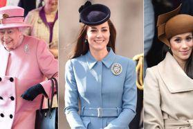 英國皇室10個穿搭潛規則!為何凱特王妃要用手拿包?注意英國女王包包的方向,她在打暗號!