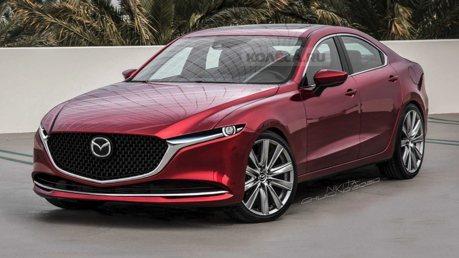 新世代後驅Mazda6四門房車長這樣?4缸渦輪或直6動力?