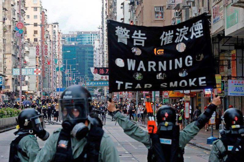 香港反送中運動。圖/取自路透社