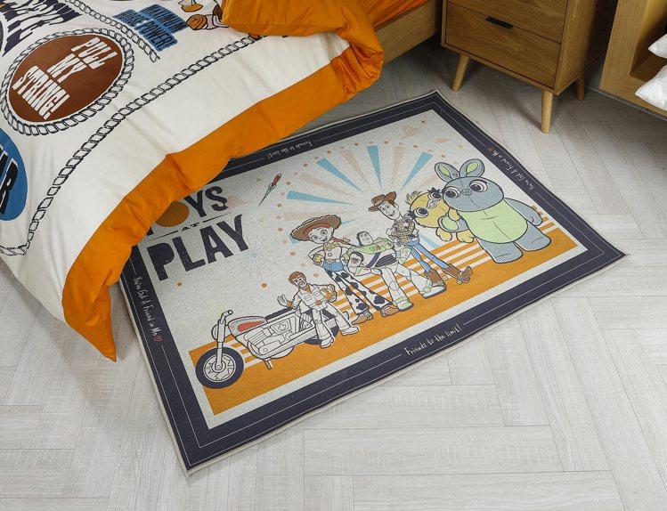 HOLA皮克斯系列Toy Story床邊毯100x140,原價2,990元/條,...