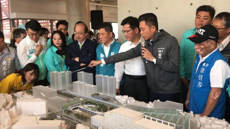 新竹大車站計畫綜合規畫費墊付案今天終於通過,市府將發包開始綜合規畫,預計1年內完成。報系資料照片