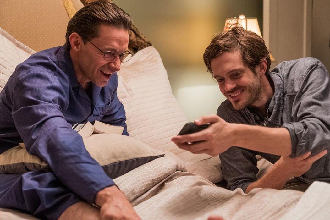 休傑克曼與新銳導演柯瑞芬利合作新片「壞教育」。圖/甲上提供