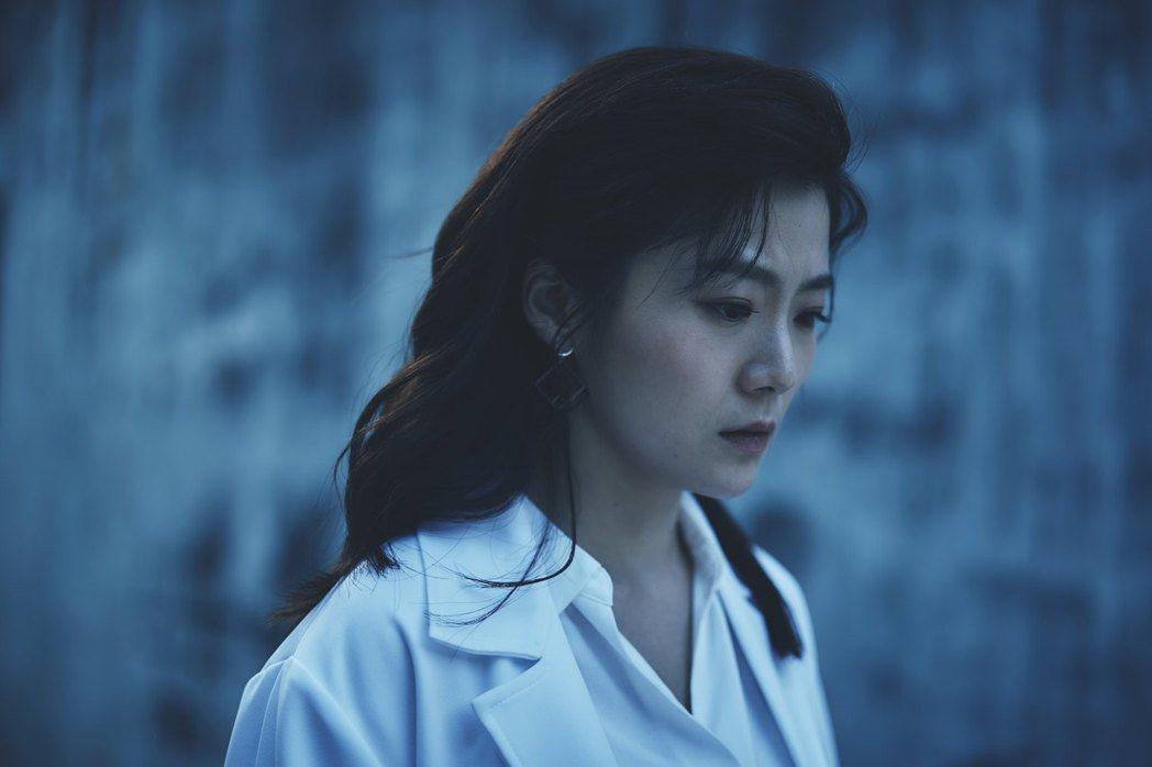 楊小黎獲得金鐘獎後首演電影「媽!我阿榮啦」,自誇將成代表作。圖/答人文創提供
