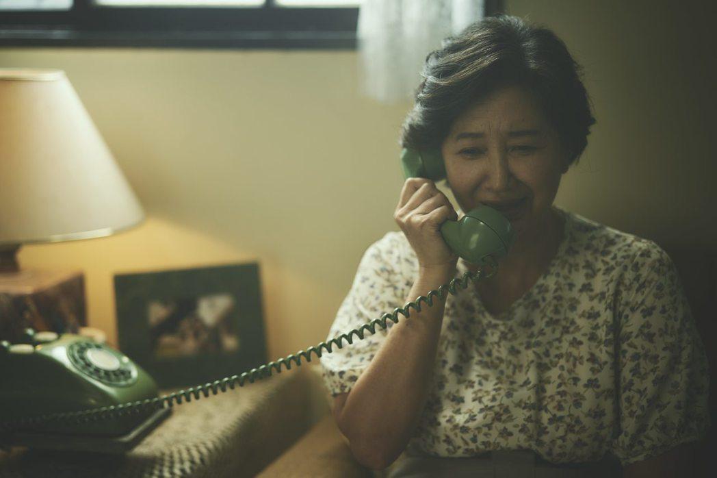 蘇明明在「媽!我阿榮啦」飾演阿榮的母親。圖/答人文創提供