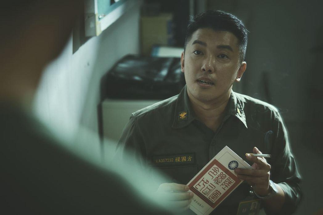 段鈞豪在「媽!我阿榮啦」扮演輔導長。圖/答人文創提供