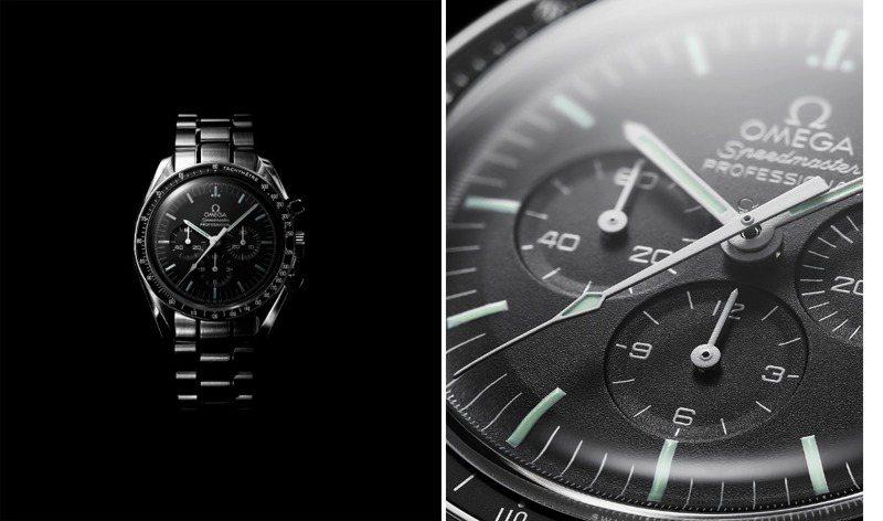 14秒決定一只腕表的傳奇?五十年前1970年的14秒,卻讓歐米茄超霸計時碼表,至今仍為人津津樂道。圖 / OMEGA提供。