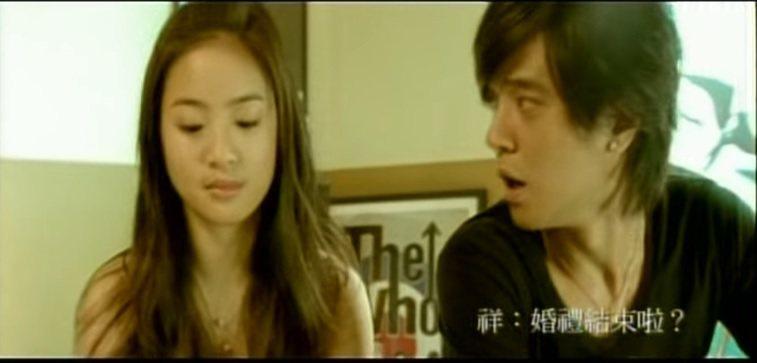 林依晨(左)曾與羅志祥和拍MV傳出緋聞。圖/截圖自YouTube