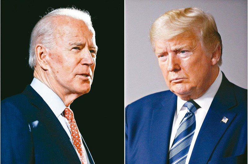 距11月大選還有六個月,民主黨總統參選人白登取得對川普總統六個百分點的領先優勢。 美聯社