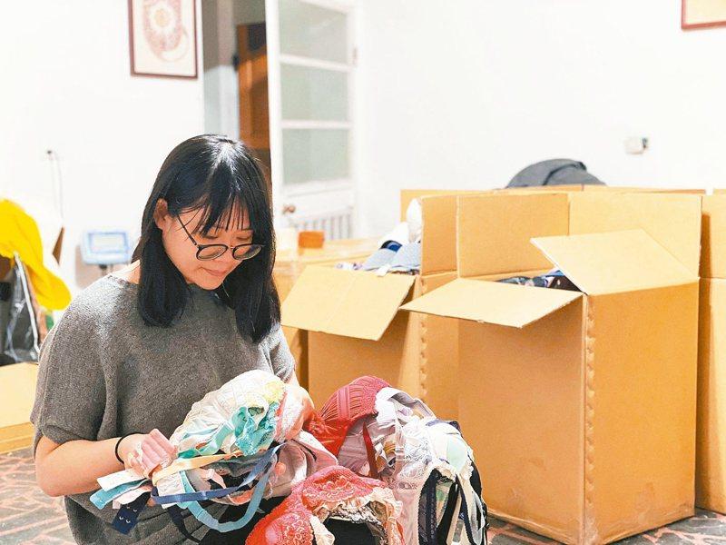 運動內衣、發育內衣、哺乳內衣、含有罩杯的背心,清洗乾淨之後都可以使用掌櫃捐贈。 圖/掌櫃提供