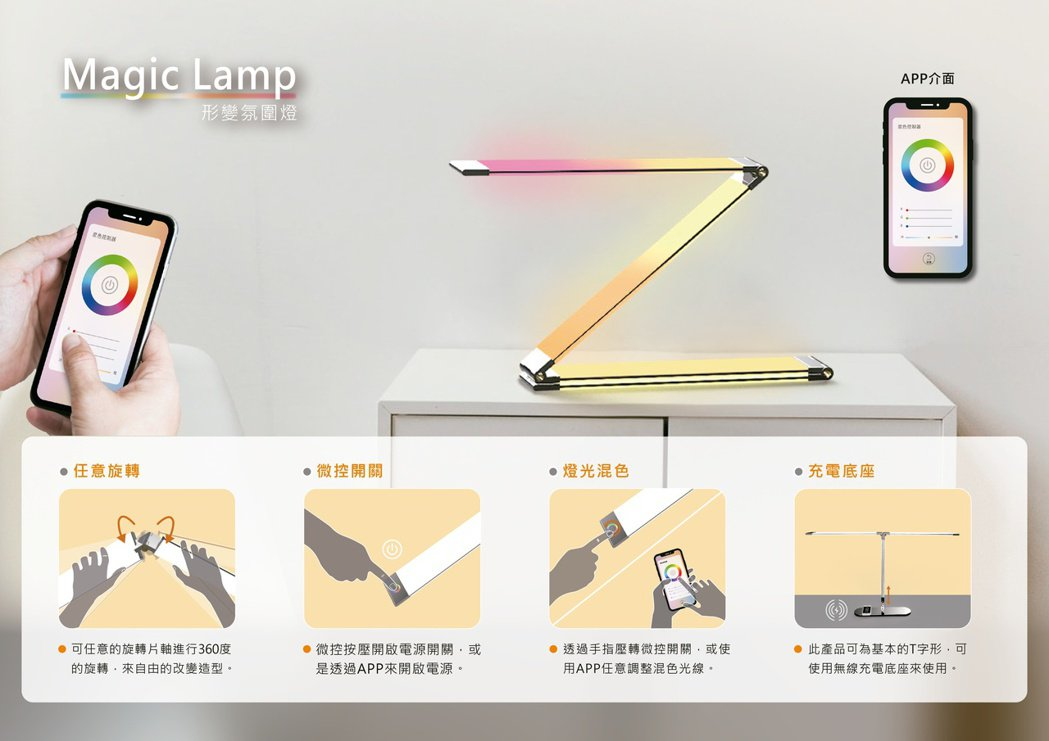 Magic Lamp_陳怡雯_高嘉璤。 東南科大/提供