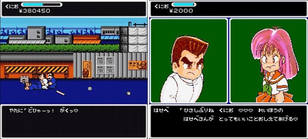 在 x68000 個人電腦上推出的《熱血物語》,除了有敵人打鬥的叫聲之外,還有特...