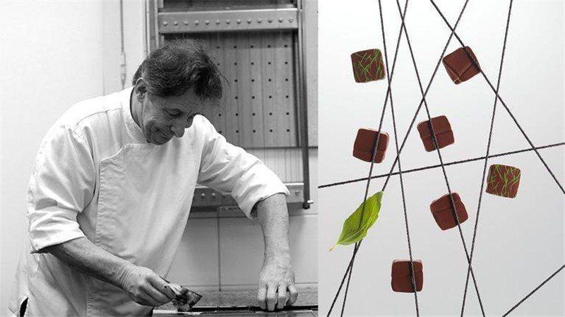 巧克力大師大手筆捐出最好的作品 / 來源:Jacques Genin