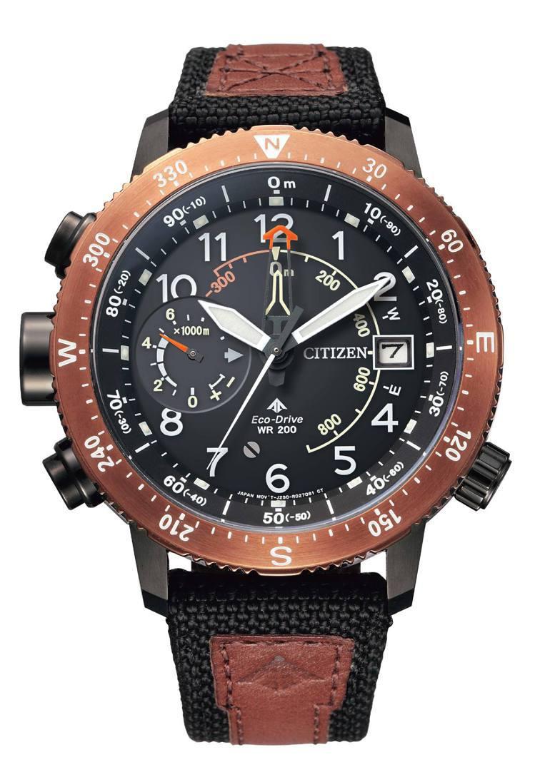 星辰表BN4049-11E腕表,不鏽鋼表殼,限量100只,約23,800元。圖/...