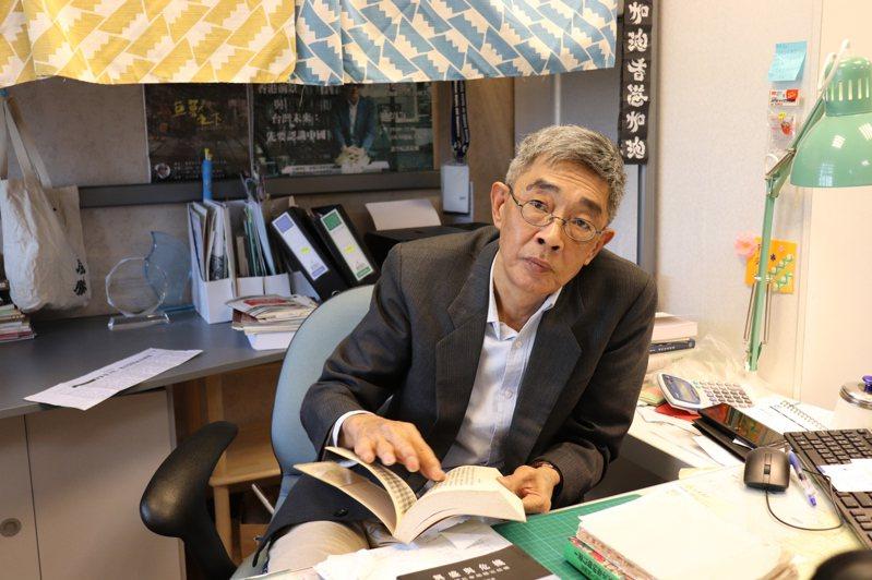 台北銅鑼灣書店創辦人林榮基。 記者呂佳蓉/攝影
