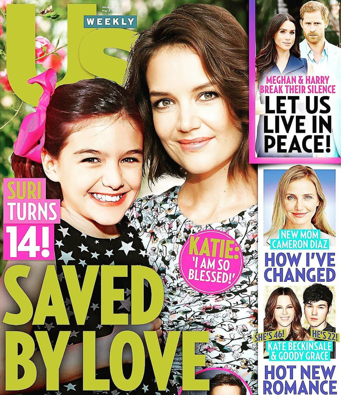 蘇蕊已是14歲的少女,和媽媽凱蒂依舊親密,彷彿姊妹。圖/摘自US