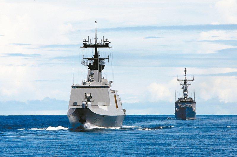 敦睦艦隊是我國海軍年度例行性的任務性編組支隊。 圖/取自軍聞社