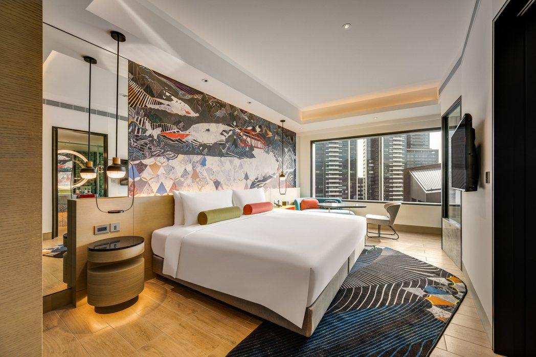 台北大直英迪格酒店五月推「美力‧巨星假期」,每晚NTD5800起.。