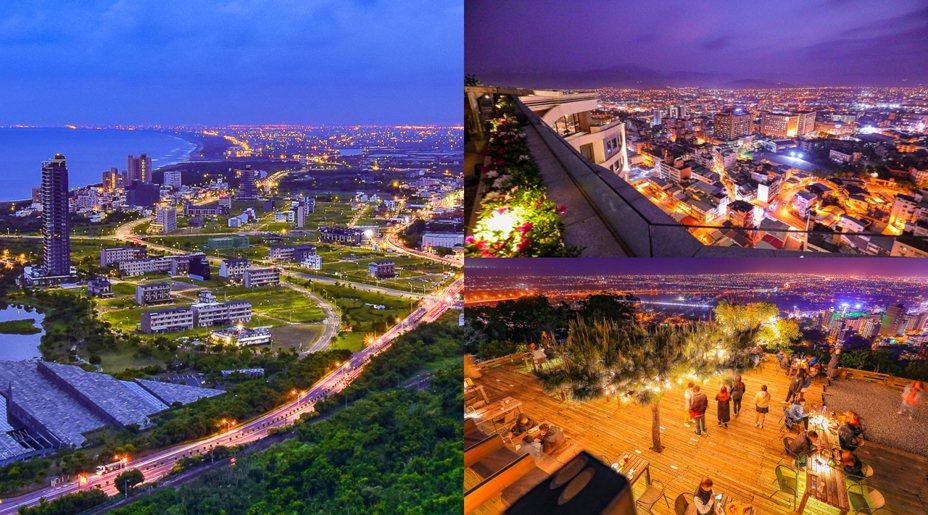 宜蘭也有多處值得一訪的夜景秘境。圖/卡夫卡愛旅行授權
